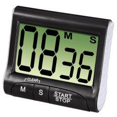 xavax Minuterie de cuisine 'Countdown', numérique, noir