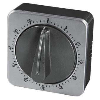 xavax Minuterie de cuisine, analogique, argent / noir