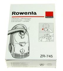 adaptable sur ROWENTA  SACS ASPIRATEUR X6 + 1 MICROFILTRE POUR DYMBO  adaptable sur ROWENTA