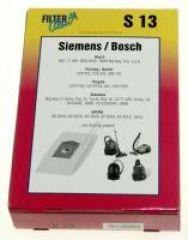 S13 SACS ASPIRATEUR (X5) POUR SIEMENS /  adaptable sur BOSCH