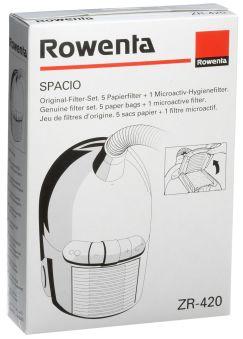 SACS ASPIRATEUR (X5) + MICROFILTRE POUR SPACIO  adaptable sur ROWENTA