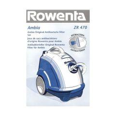 ZR470- adaptable sur ROWENTA  SACS ASPIRATEUR X6 + 1 MICROFILTRE POUR AMBIA  adaptable sur ROWENTA