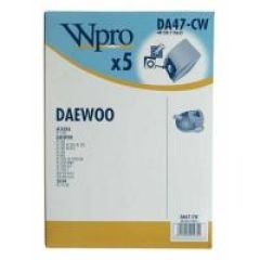 DA47CW SACS ASPIRATEUR (X5) WPRO POUR  adaptable sur DAEWOO