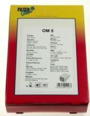 OM5 SAC ASPI PAPIER X 5+2 FILTRES