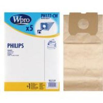 PH177CW SAC WPRO BOÎTE adaptable sur PHILIPS ATHENA / 5 SACS + 1 FM