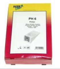 PH6 SAC ASPI PAPIER X4+2 FILTRES