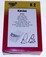 K2 SAC ASPI PAPIER X4+1 FILTRE