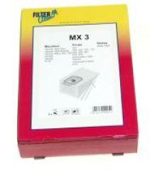 MX3 SAC ASPI PAPIER X5+3 FILTRES