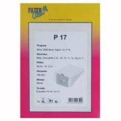 P17 SAC ASPI PAPIER X6+2 FILTRES