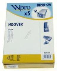 HO90CW SAC WPRO BOÎTE adaptable sur HOOVER / 5 SACS + 1 MF