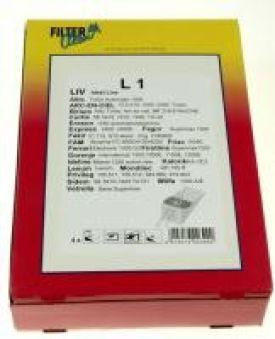 L1 SAC ASPI PAPIER X4+2 FILTRES