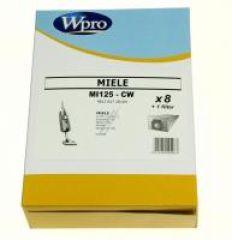 MI125CW SACS ASPIRATEUR WPRO (X8) POUR  adaptable sur MIELE