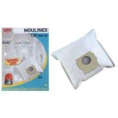 133 133 SACS ASPIRATEUR (X4) POUR  adaptable sur MOULINEX