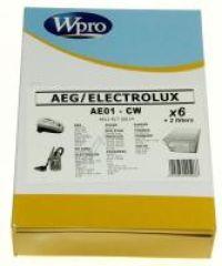 AE01-CW SAC WPRO BOÎTE adaptable sur AEG / 6 SACS + 1 MF + 1 FM